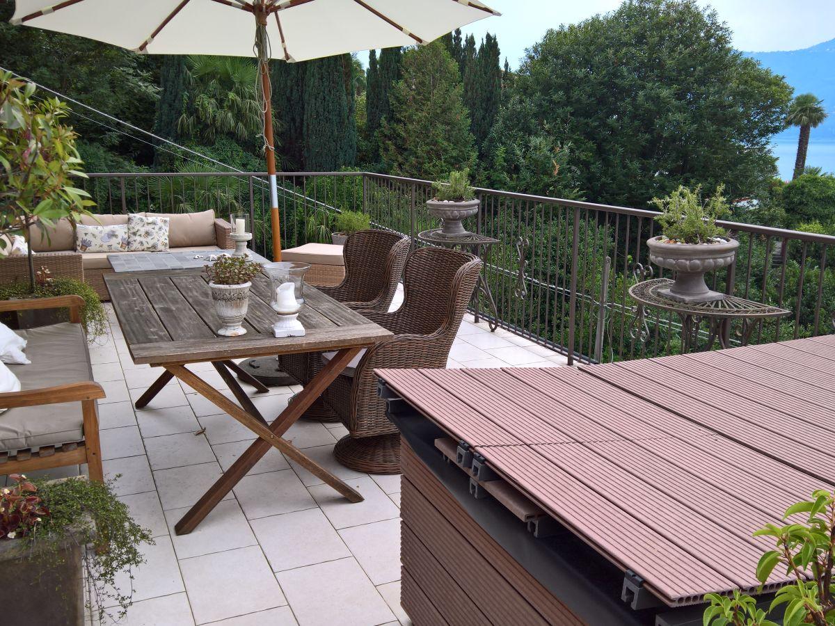 Lounge Ecke Terrasse Ferienhaus Zagara Sizilien Noto Firma