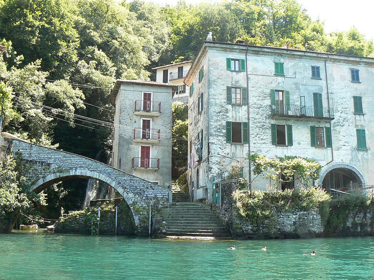 Ferienwohnung Mit Pool Comer See Holiday Apartment Palazzo At Lake Como Nesso Frau Halina Hendrickx