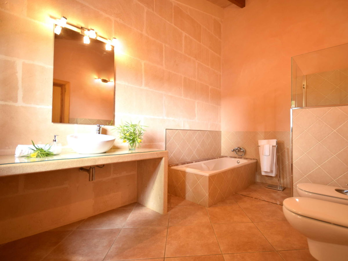 Bad On Suite Ferienhaus Luxusfinca Playa De Muro Alcudia Mallorca