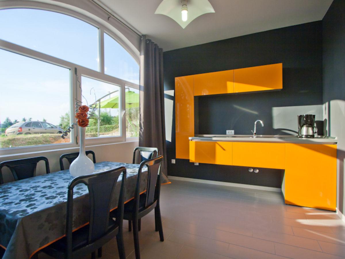 Wandbilder Küche Esszimmer   Amerikanische Küche Planen Holzhaus ...