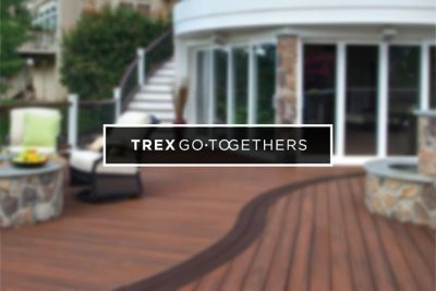 Synthetic Deck Boards Trex Go Togethers Your Siding Our Deck Boards Trex