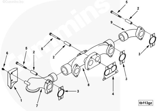 Cummins ISX (Stock #3682710) Engine Misc Parts TPI