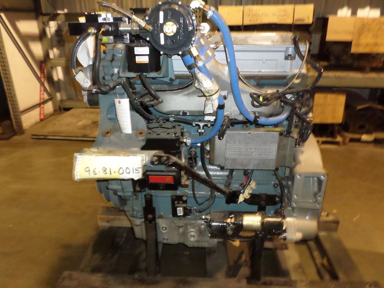 Warehouse For Sale Detroit Detroit Series 50 Stock Dcw44311ti Engine Assys Tpi