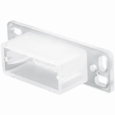 Slide Co Drawer Mounting Bracket White Polyethelene 22842