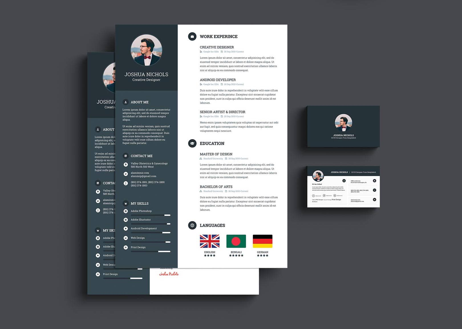 template cv word facile a creer