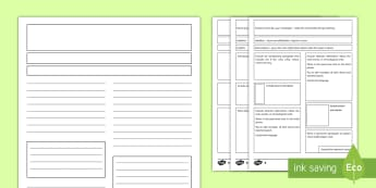 Ks2 Newspaper Templates Reports Primary Resources