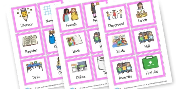 EAL Word Cards Primary Resources - EAL Word Cards English Languag
