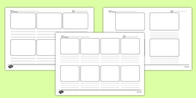 Storyboard Templates Polish Translation - polish, storyboard, templates