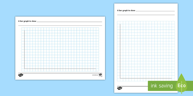 Bar Chart Template - bar graph, template, maths, designing - making graph paper in word