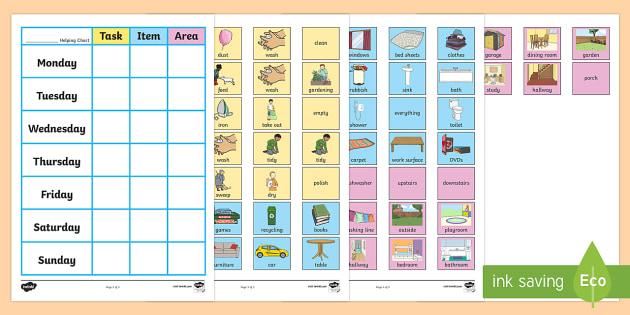 Chore Chart For Home - chore chart for home, chore, chart, home