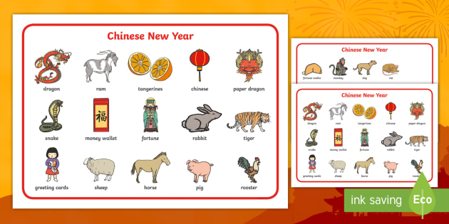 chinese new years words - Selol-ink