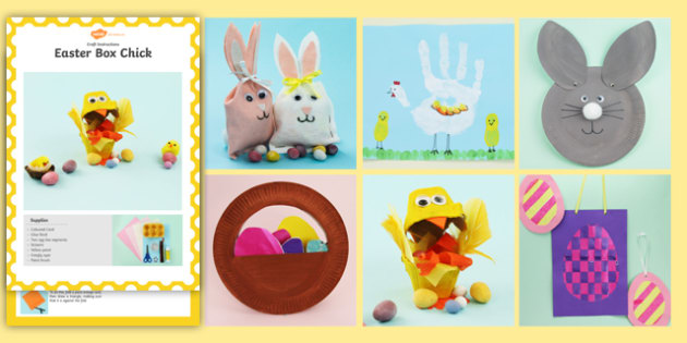 Easter Cards to Make - easter, craft, activity, craft pack