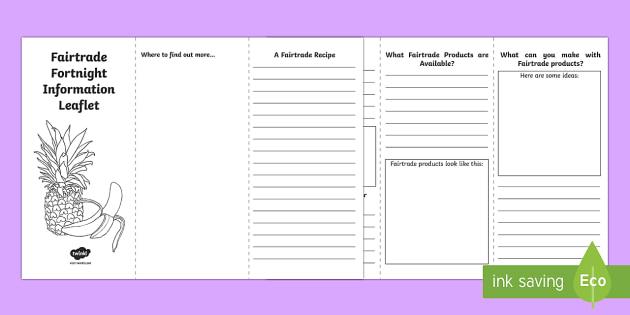 Fancy Leaflet Writing Frame Ks2 Vignette - Frames Ideas Handmade