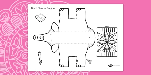 Fascinating Elephant Paper Plate Craft Contemporary - Best ...