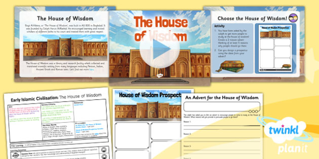 History Early Islamic Civilisation The House of Wisdom UKS2 Lesson