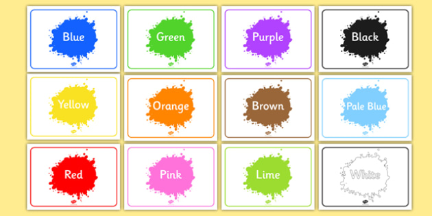 Editable Class Group Signs (Colour) - Colours, group signs