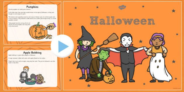 All About Halloween PowerPoint KS1 - halloween, pumpkin, October