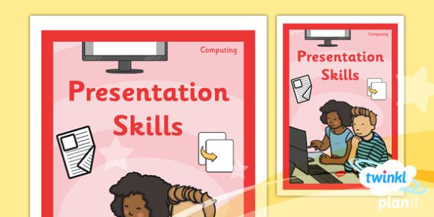 Computing PowerPoint Presentation Skills Year 2 Unit Book Cover - presentation skills ppt