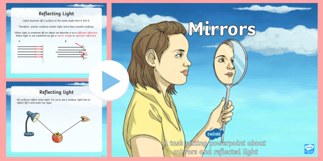 Mirrors and Reflected Light Task Setting PowerPoint-mirrors - esl powerpoint lesson