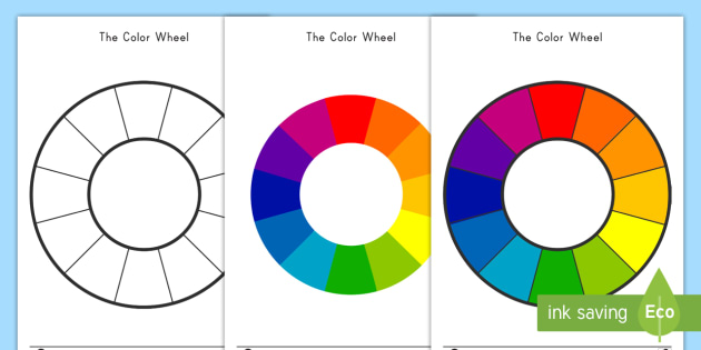 Color Wheel Activity Color Color Wheel Primary Secondary