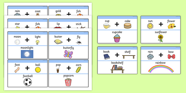 Examples Of Compound Words With Pictures - Compound Words - examples of