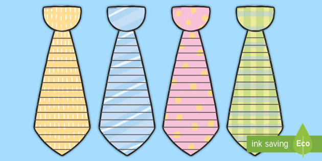 New Father39s Day Tie Shape Poetry Writing Template
