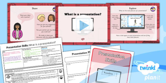Computing PowerPoint Presentation Skills What is a Presentation