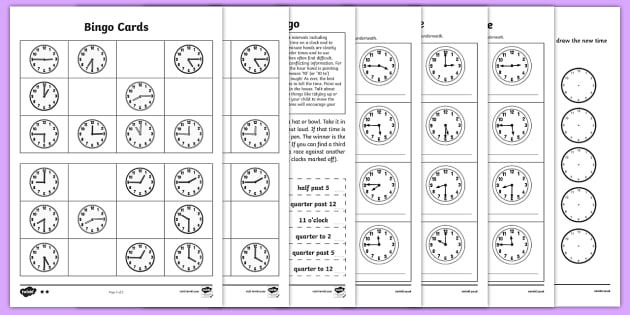 Telling the Time Worksheets - Maths Resources, maths, numeracy - time worksheets