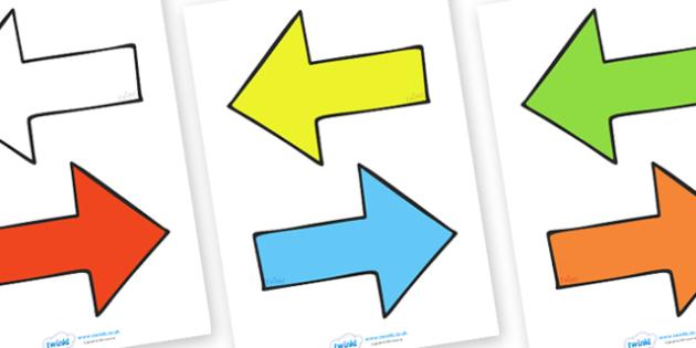 FREE! - Editable Arrows - arrow, editable, display arrow, display