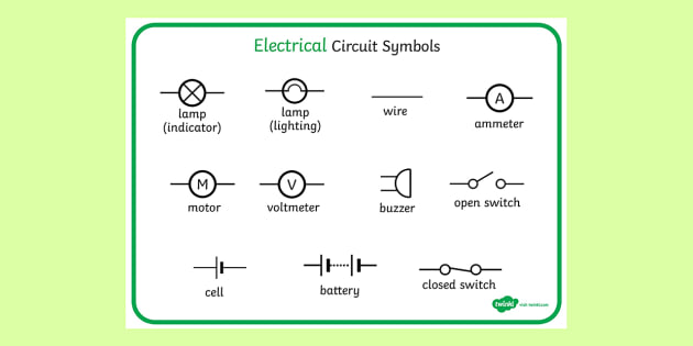 Circuit Diagram In Word circuit diagram template