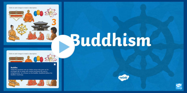 KS2 Inter Faith Week Buddhism PowerPoint - Buddha - buddhism powerpoint