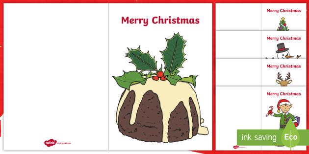 Christmas Card Templates - Christmas, xmas, card template, card