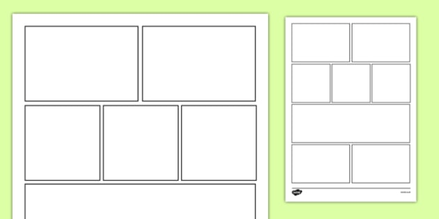 8 Box Storyboard Template - 8 box, storyboard, template, story - interactive storyboards