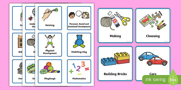 Nursery \/ Foundation Stage 1 Visual Timetable - Daily Routine - daily timetable
