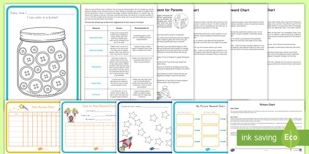 Behavior Charts Resource Pack - special education, behavior