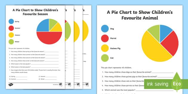 Pie Chart Interpretation Worksheet / Worksheets - maths, mathematics