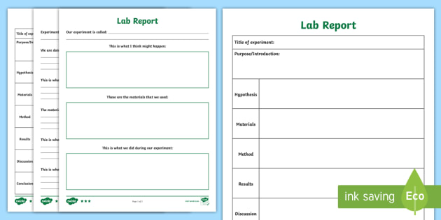 NEW * Science Lab Differentiated Writing Template - Scientific Method