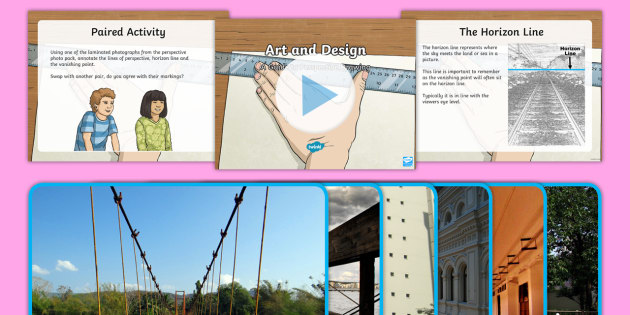 NEW * CfE (Second) Drawing Perspective PowerPoint - art, drawing