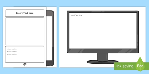 NEW * KS1 Safer Internet Day Competition Poster Template Activity