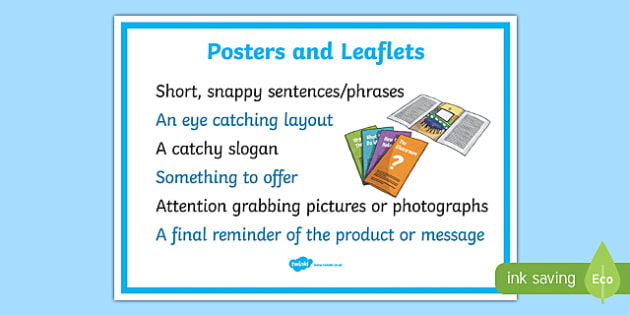 Posters And Leaflets Display Poster - posters and leaflets
