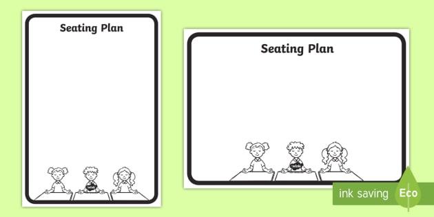 FREE! - Seating Plan Template-seating plan, seating template, class