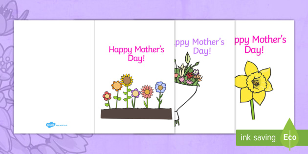 Mother\u0027s Day Card Template - Design, Mother\u0027s day card, Mother\u0027s