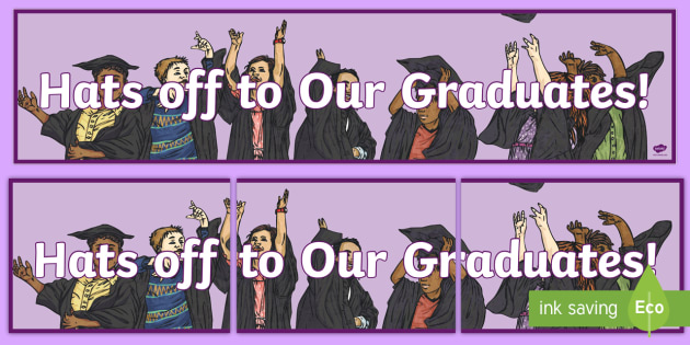 Graduation Banner - Graduation, 6th Class, Graduates