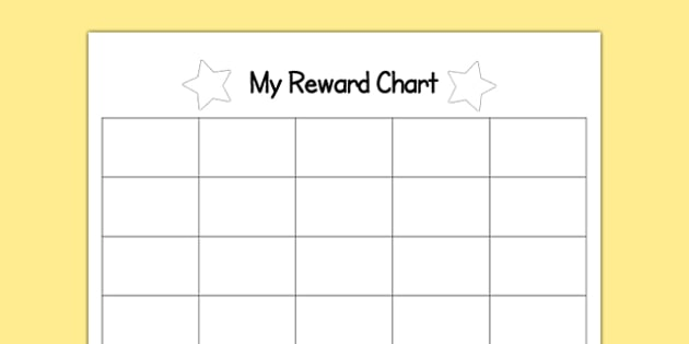 200 Space Sticker Editable Reward Chart - 200, space, sticker, editable
