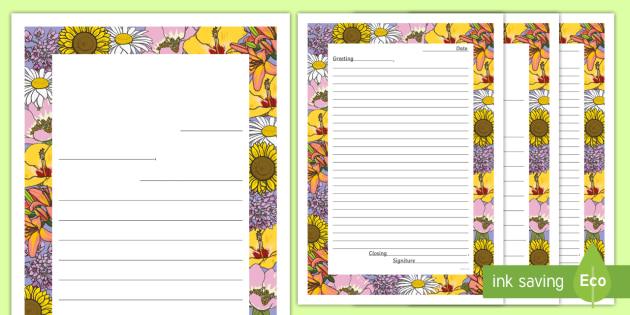 Letter to Future Teacher Writing Template Worksheet / Worksheet