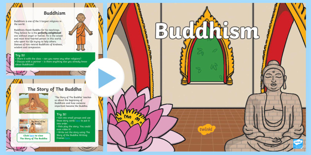 KS1 Buddhism Activity PowerPoint - Buddhist, Quiz, Interactive - buddhism powerpoint