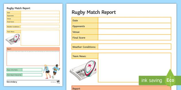 team report template - Baskanidai - template for a report