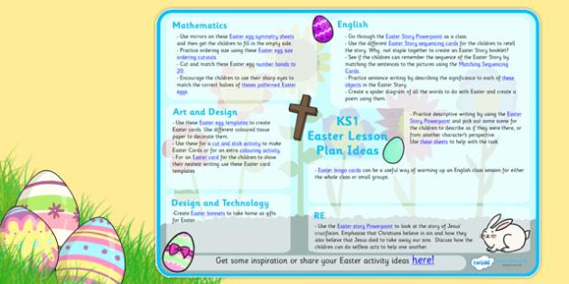Easter Lesson Plan Ideas KS1 - easter, easter lesson plan - lesson planning