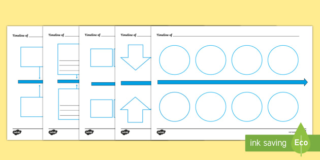 Blank Timeline Template - Twinkl Teacher Requests, research