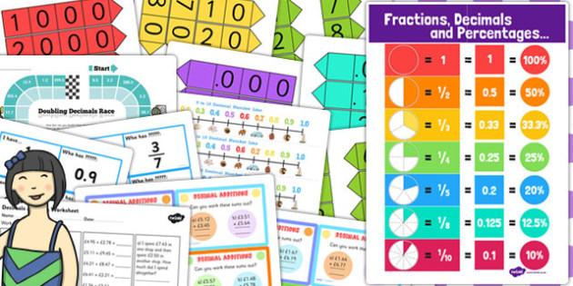 Ks3 Maths Decimals Catch Up Resource Pack Ks3 Maths